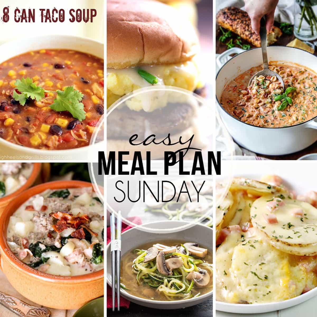 Easy Meal Plan Sunday {Week 21}
