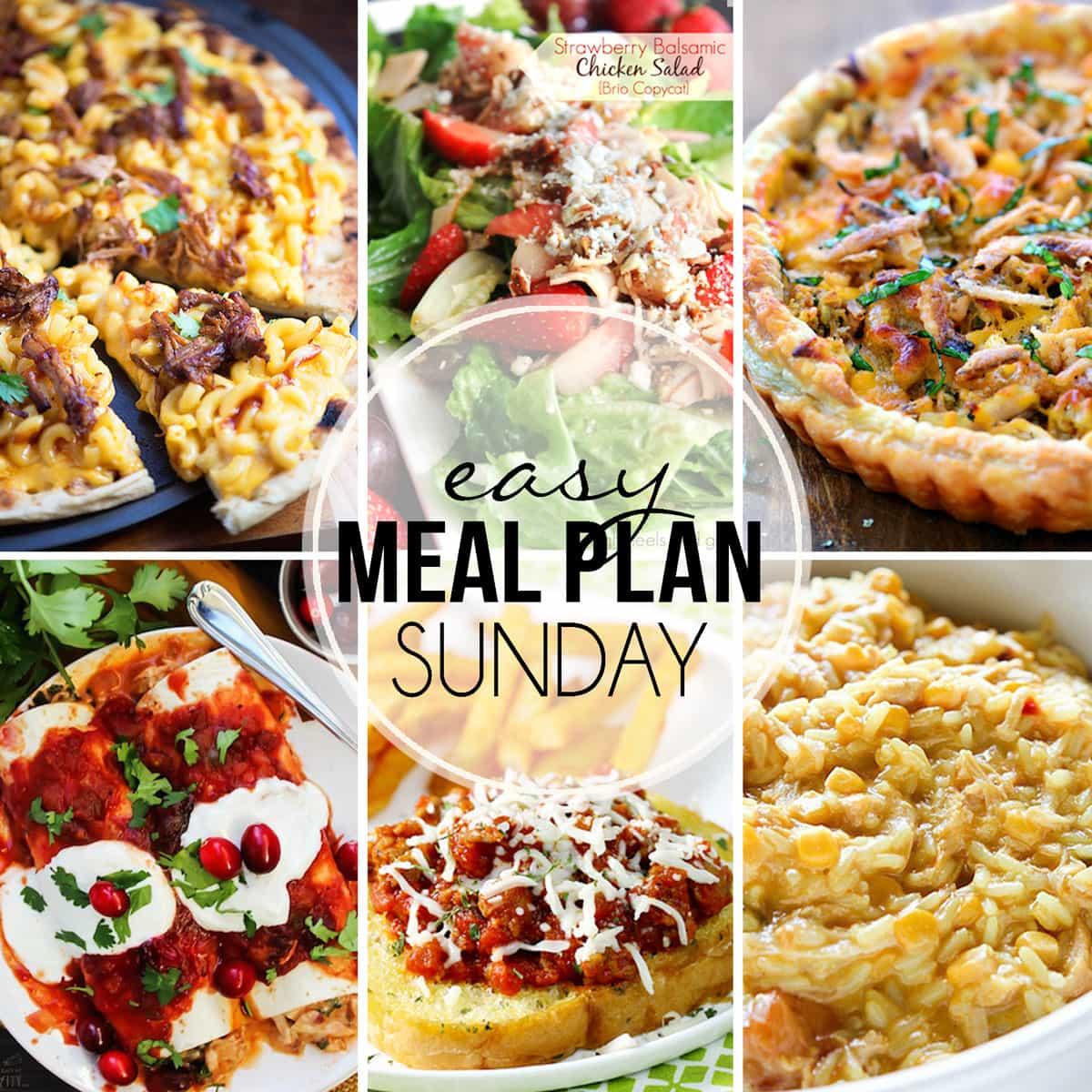 Easy Meal Plan Sunday {Week 22}