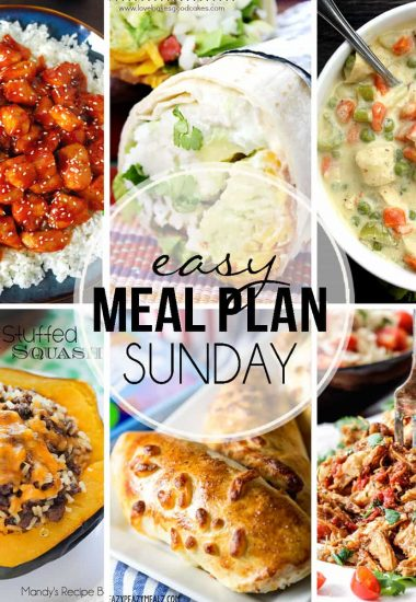 Easy Meal Plan Sunday {Week 23}