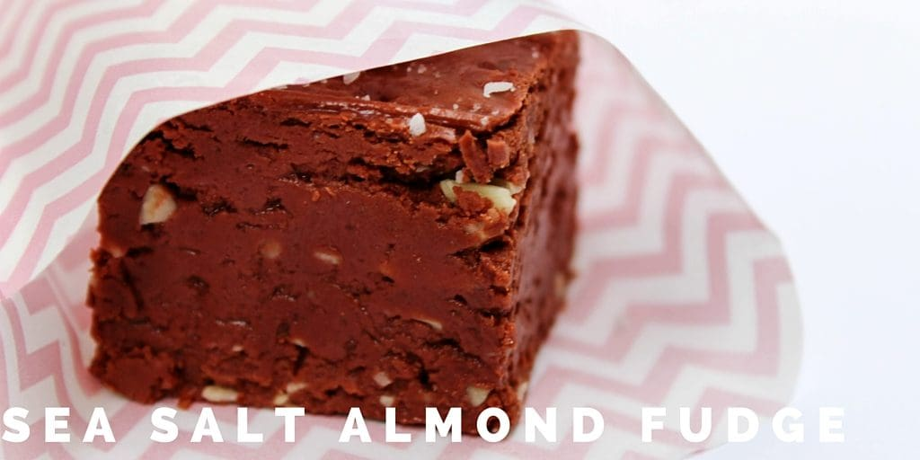 Sea Salt Almond Fudge is an easy to make, deep rich fudge with slivered almond and sea salt that is made in the microwave. Happy Holidays friends!
