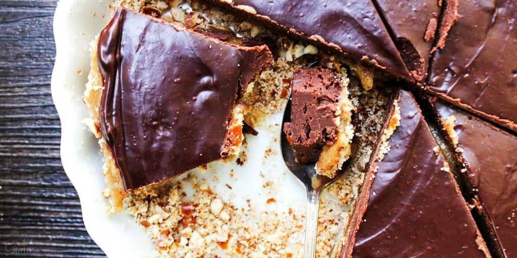 Chocolate Peanut Butter Caramel Tart Twitter