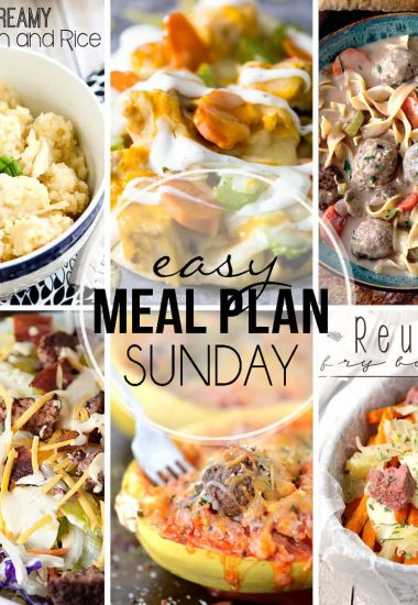 Easy Meal Plan Sunday {Week 28}