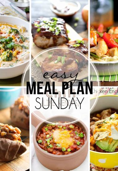 Easy Meal Plan Sunday {Week 31}