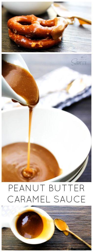 Peanut Butter Caramel Sauce LONG PIN