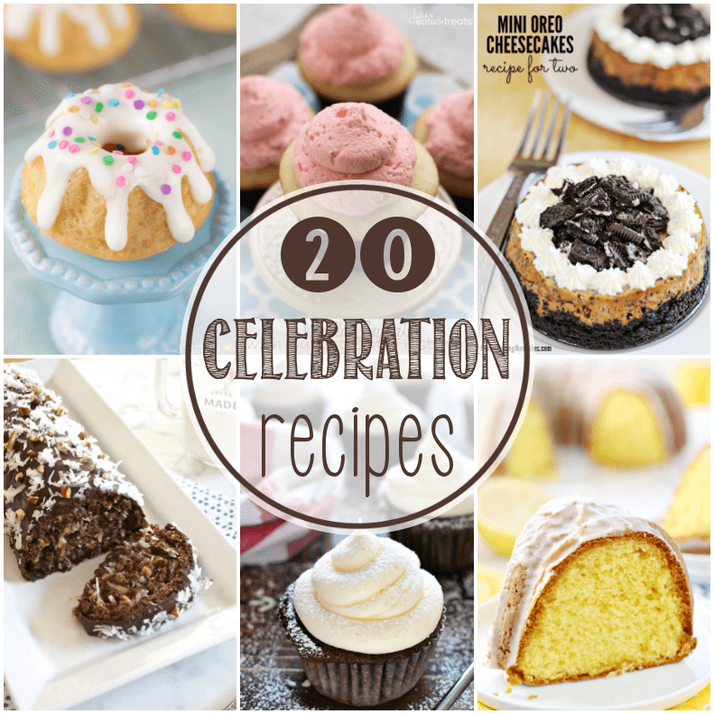 20 Recipes Perfect for Celebrations square