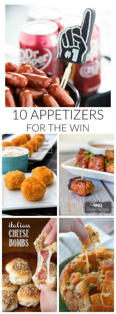 Game Day Appetizers PIN LONG