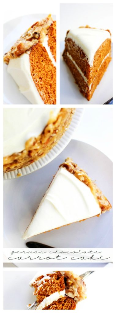 German Chocolate Carrot Cake Pin LONG