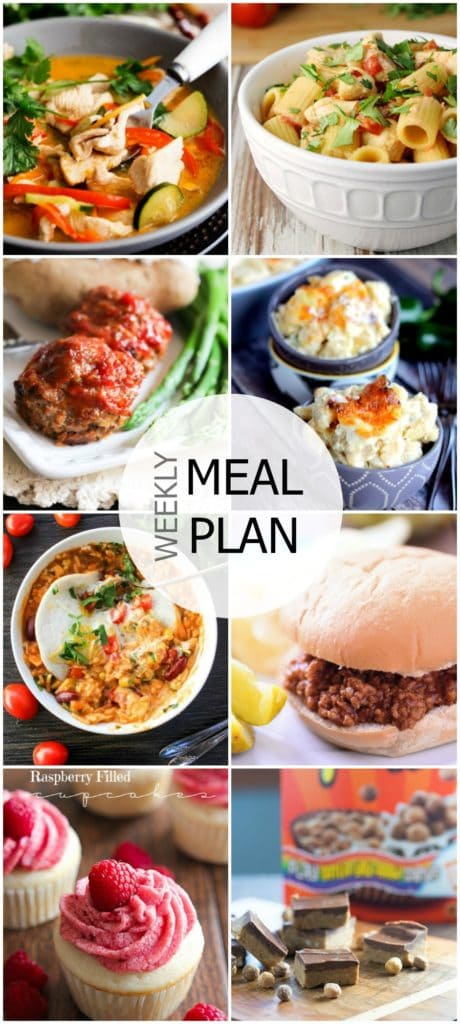 Easy Meal Plan Sunday {Week 36}