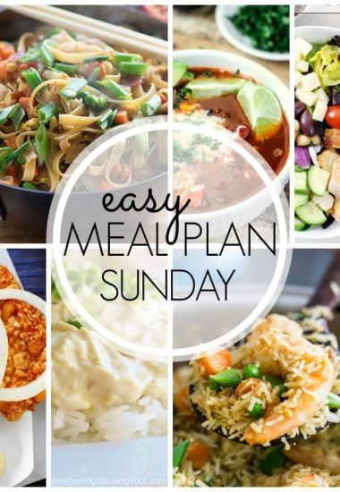 Easy Meal Plan Sunday {Week 42}