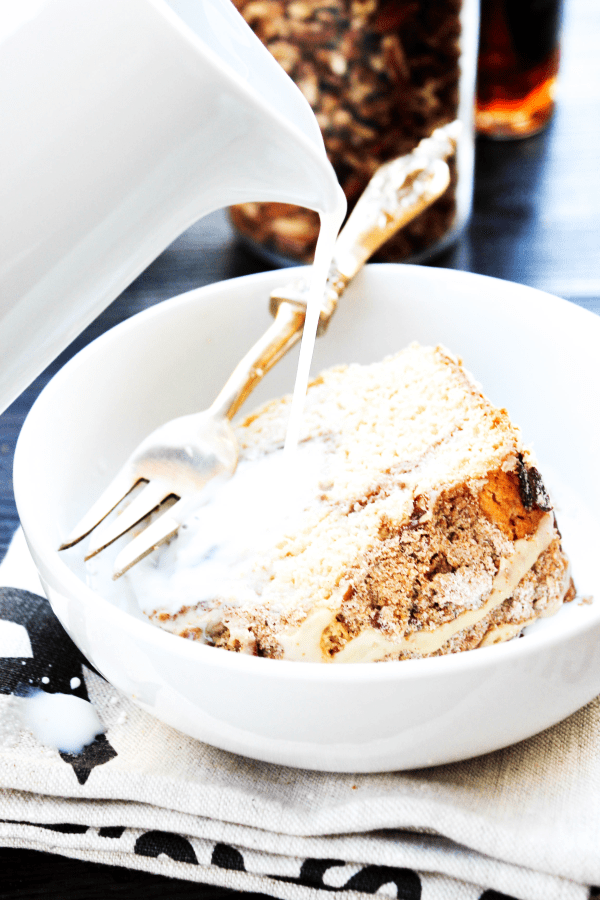 Happy National Coffee Cake Day! This Maple Pecan Coffee Cake is made with maple syrup, pecans, and a classic streusel. Your morning menu just got better.