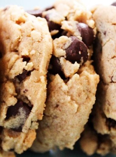 Soft Baked Chocolate Chip Peanut Butter Cookies