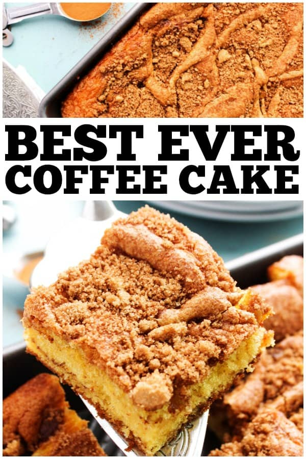 Cinnamon Swirl Coffee Cake With Yellow Cake Mix