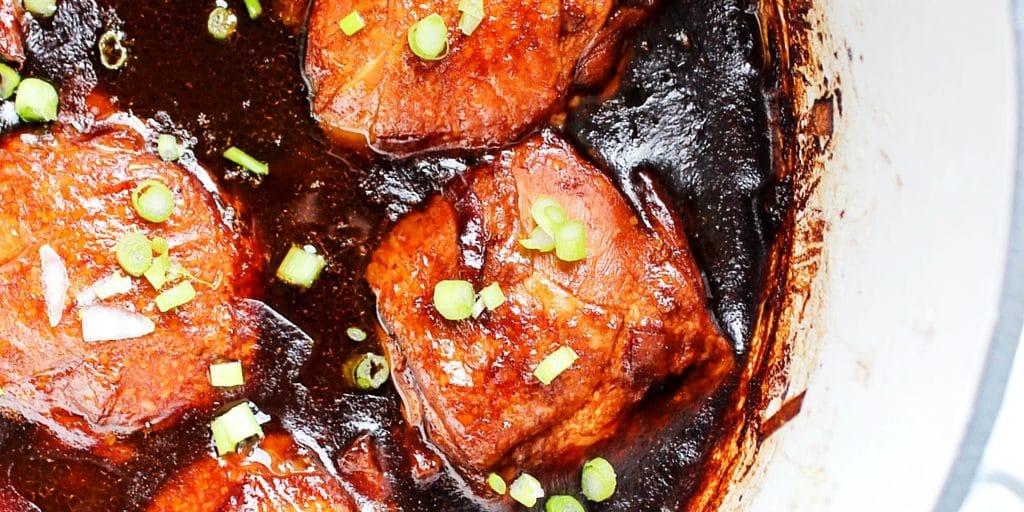 Korean Barbecue Chicken TWITTER
