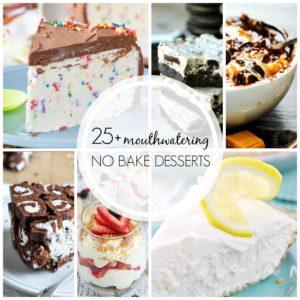 No Bake FB collage
