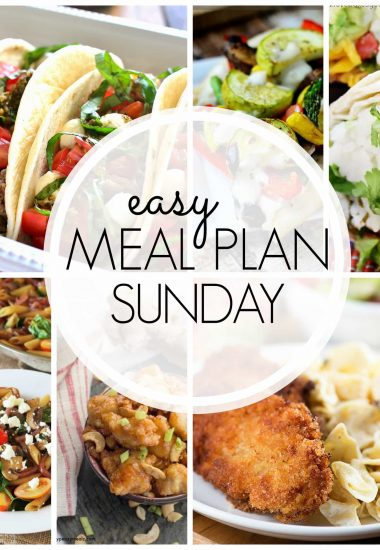 Easy Meal Plan Sunday {Week 47}