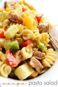 Mango Pasta Salad PIN