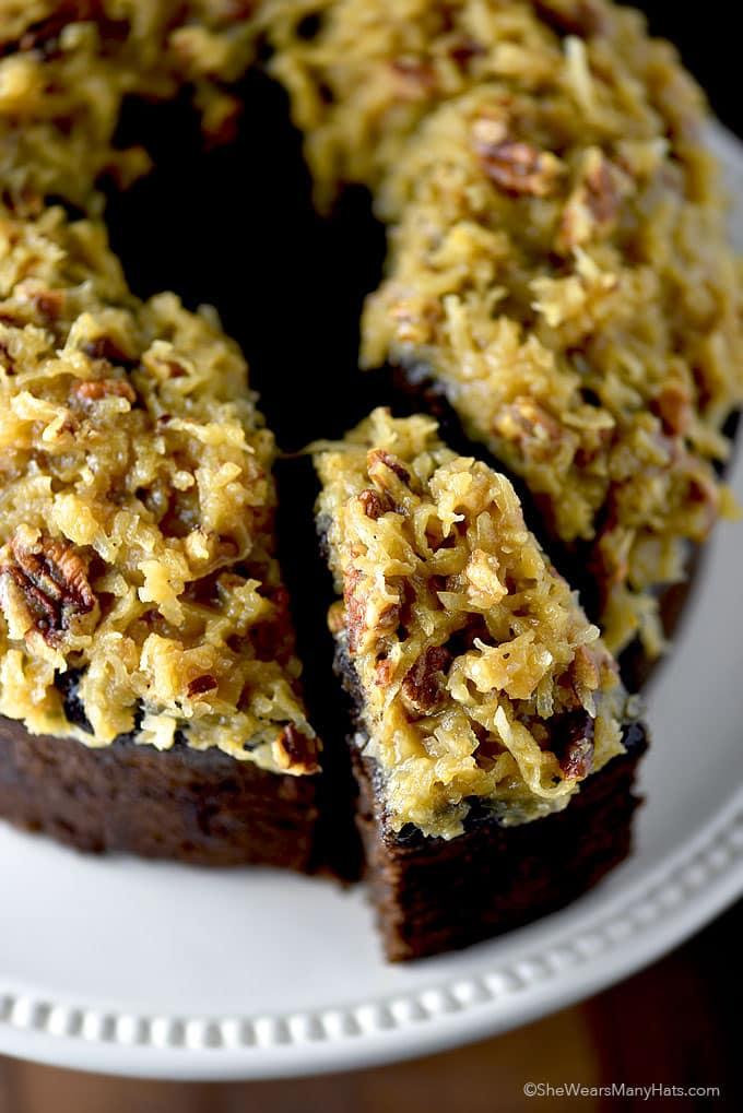german chocolate pund cake