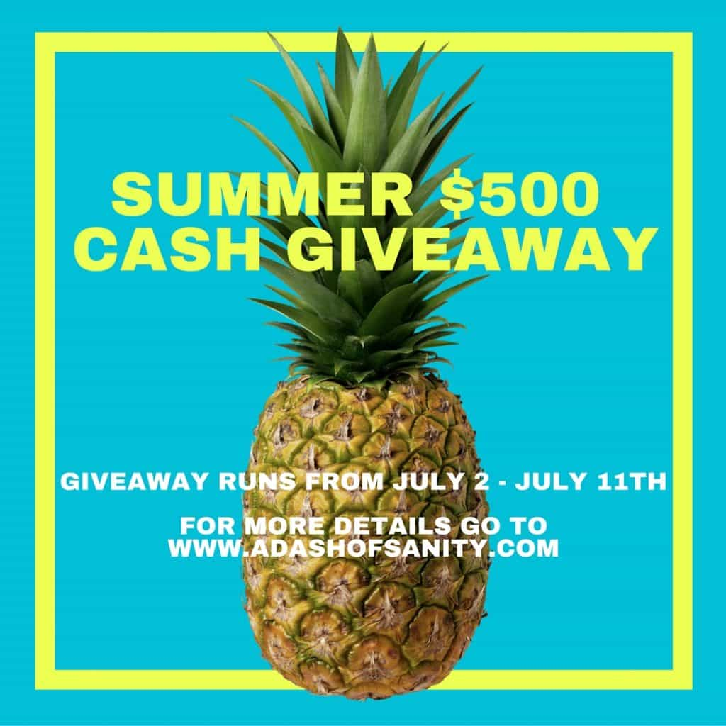 Summer CASH GIVEAWAY (1)