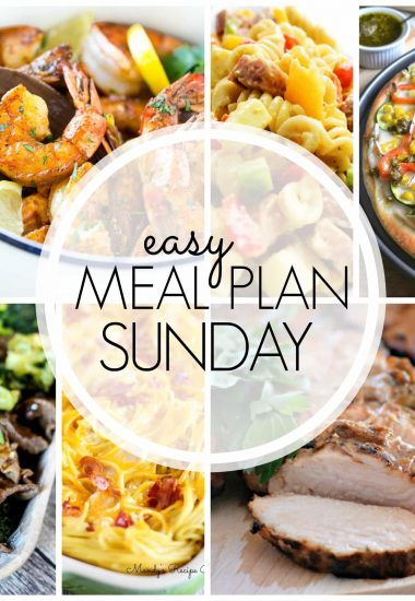 Easy Meal Plan Sunday {Week 58}