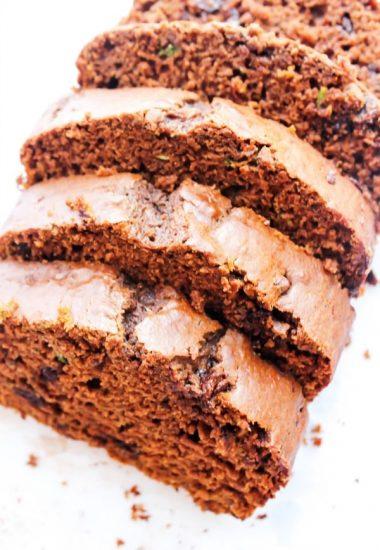 Double Chocolate Pumpkin Zucchini Bread