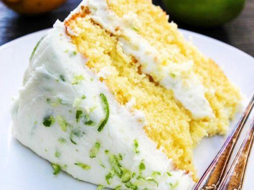 LEMON LIME LAYER CAKE