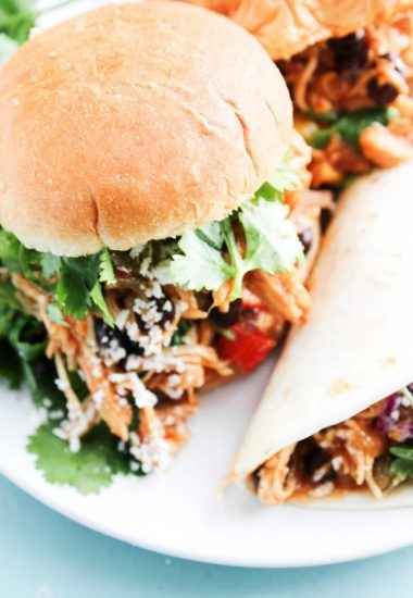 Slow Cooker Southwestern Barbecue Chicken