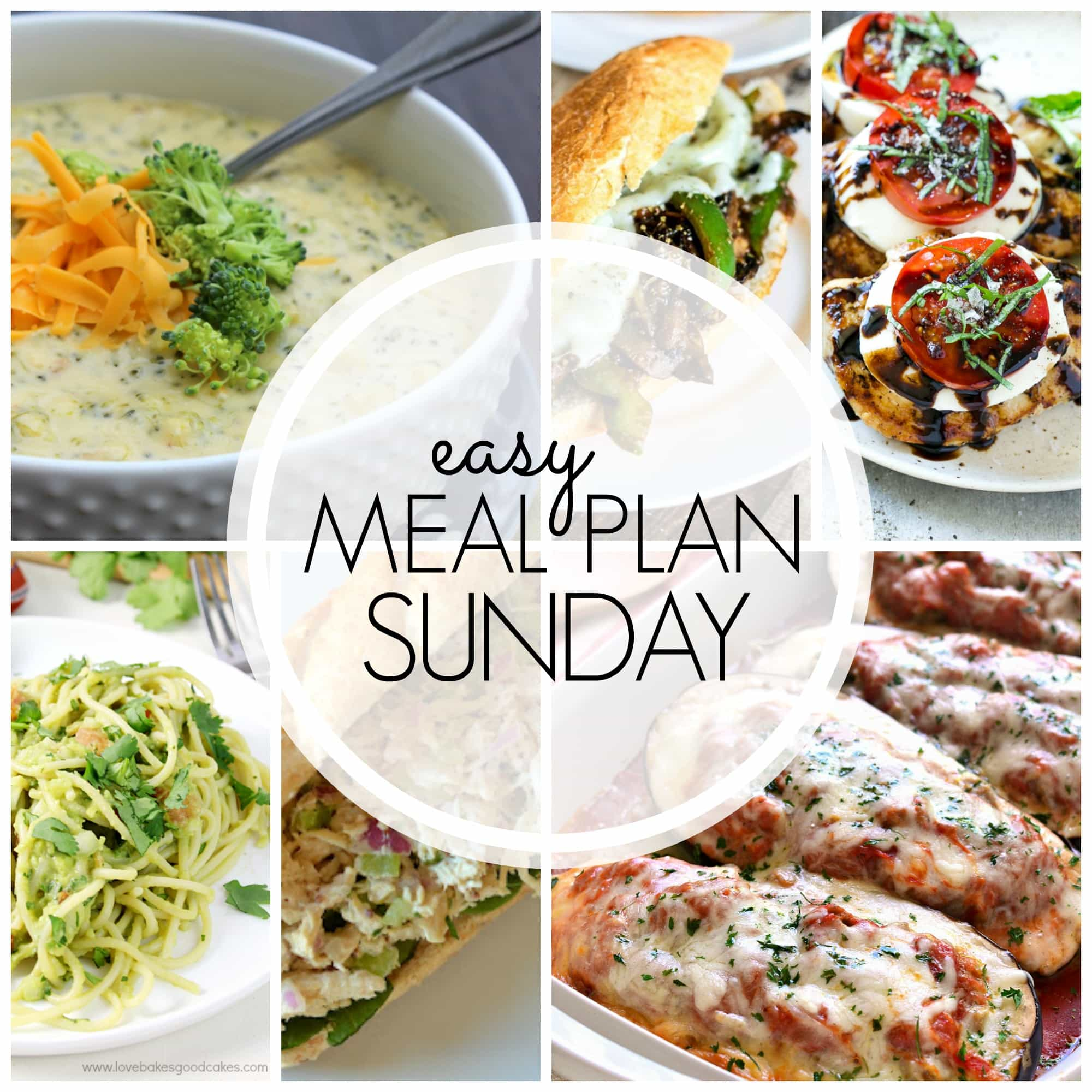 Easy Meal Plan Sunday A Dash Of Sanity