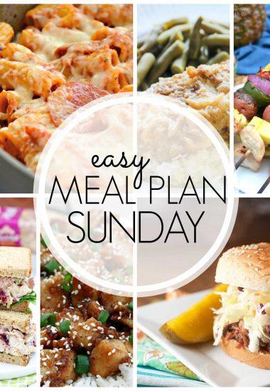 Easy Meal Plan Sunday {Week 59}