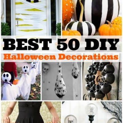 Best 50 DIY Halloween Decorations