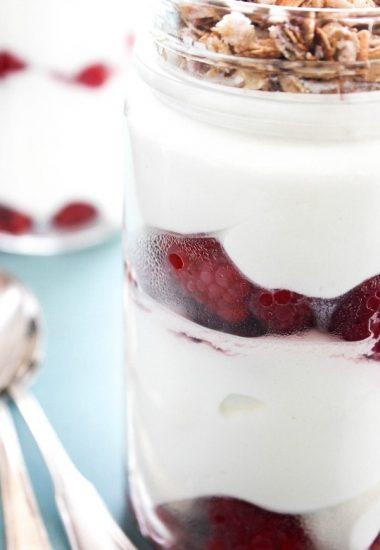 Sweet Quark & Berry Parfait
