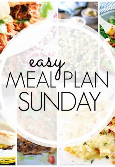 Easy Meal Plan Sunday {Week 65}