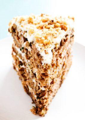 BANANA ZUCCHINI CAKE
