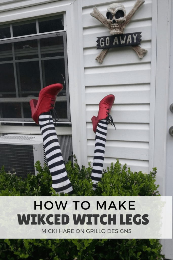 Diy Wicked Witch Legs