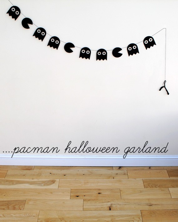 halloween-garland-pac-man