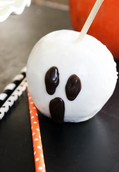 Quick & Easy Halloween Candied Apples