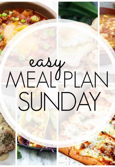Easy Meal Plan Sunday {Week 68}