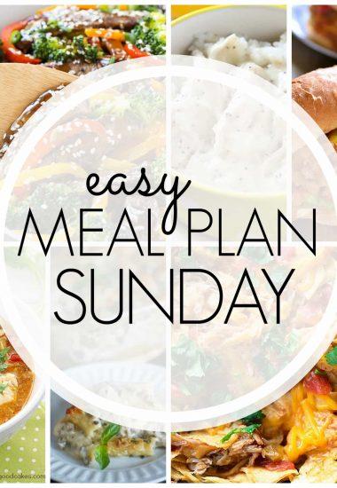 Easy Meal Plan Sunday {Week 69}