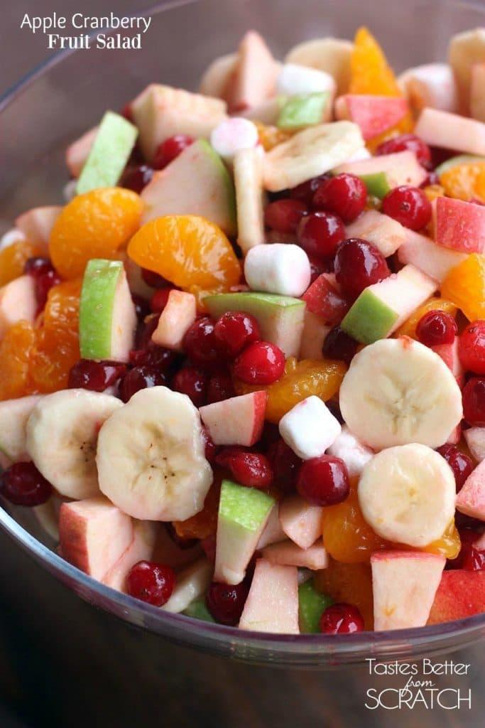 APPLE CRANBERRY FRUIT SALAD