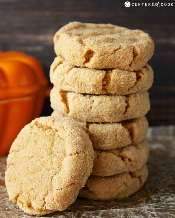 Soft Pumpkin Cheesecake Cookies for fall