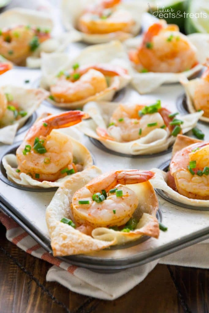 Light Tex Mex Shrimp Bites