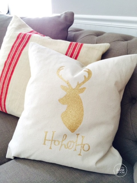 CHRISTMAS PILLOW COVER (HOW TO SEW)