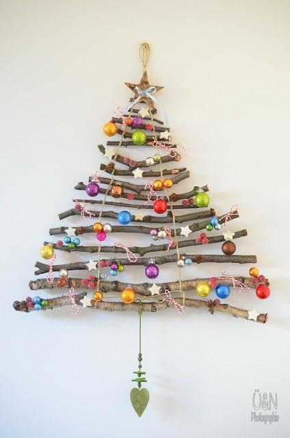 WALL CHRISTMAS TREE (TO GO)