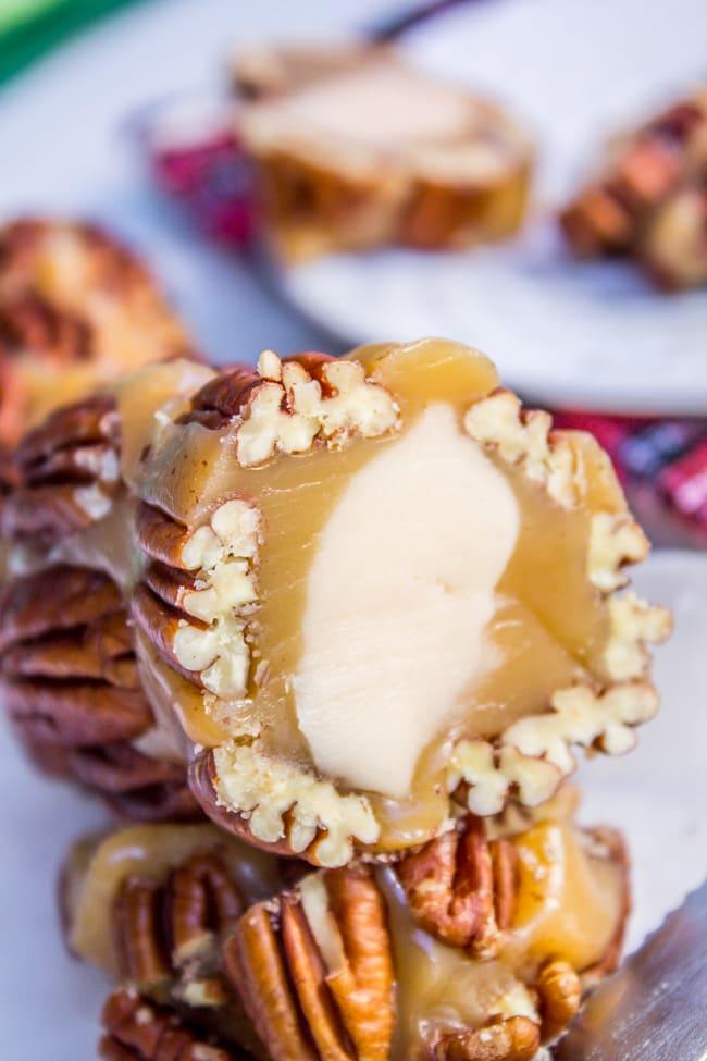 Caramel Nougat Pecan Rolls