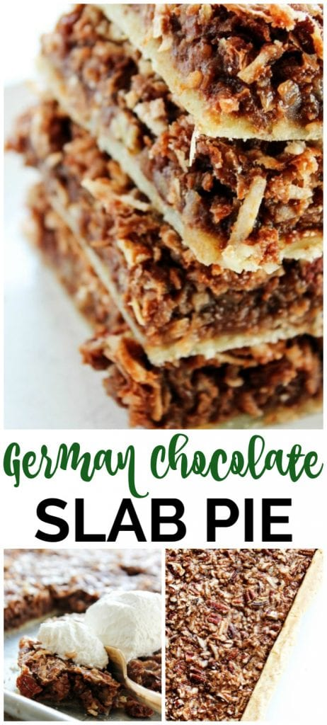 German Chocolate Slab Pie pinterest image (1)