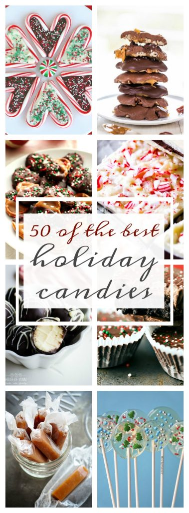 Looking for that special holiday treat? Make on of these 50 of the Best Holiday Candies because a little sugar can go a long way.