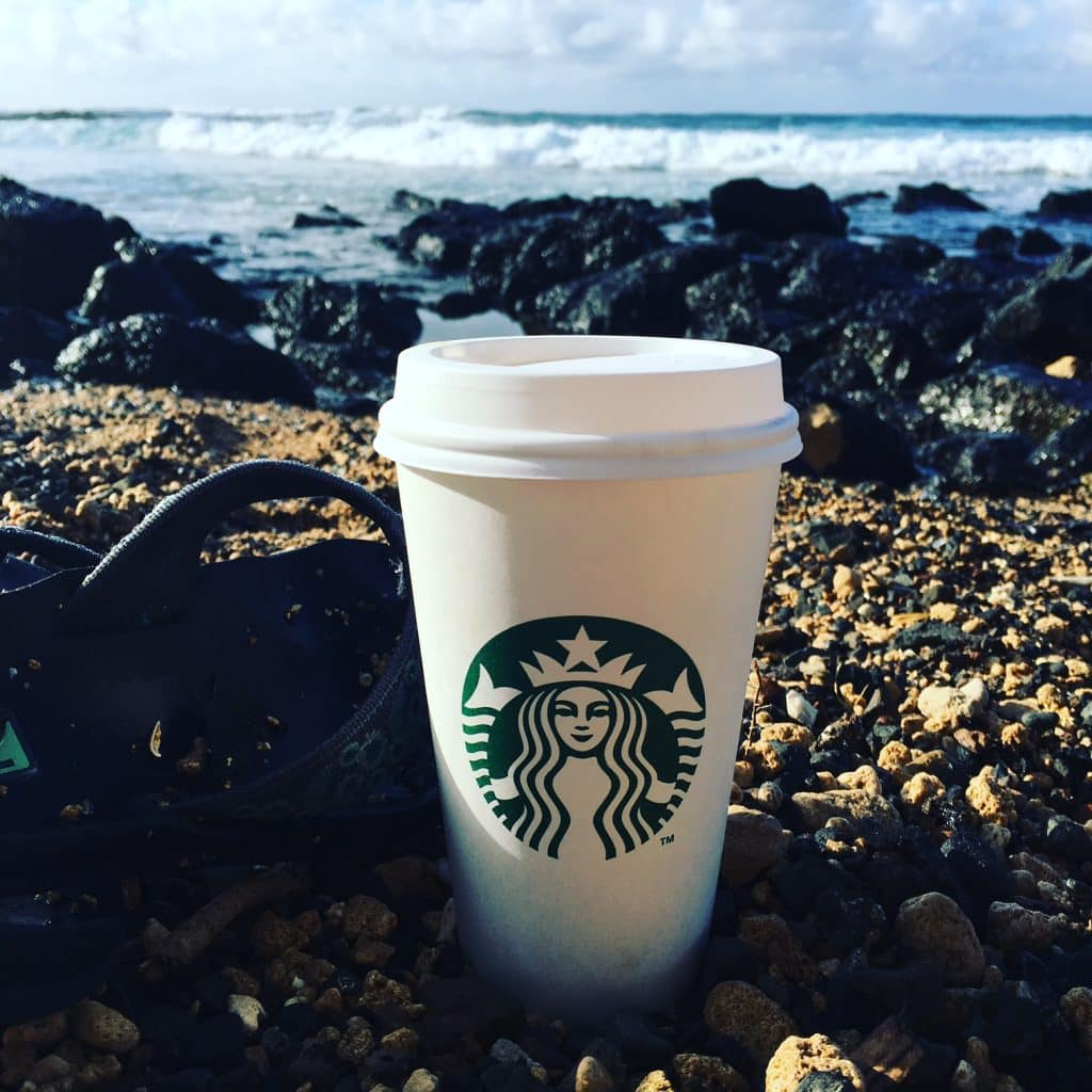 Starbucks & Kauai