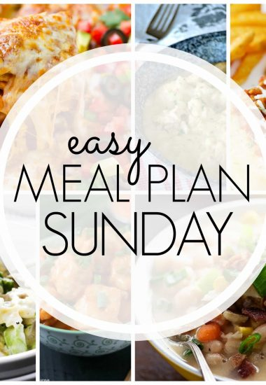 Easy Meal Plan Sunday {Week 75}