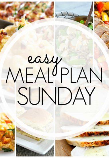 Easy Meal Plan Sunday {Week 74}