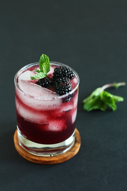 BLACKBERRY VANILLA MOCKTAIL