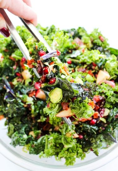 Winter Kale Super Salad